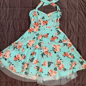 Hot Topic halter top dress.